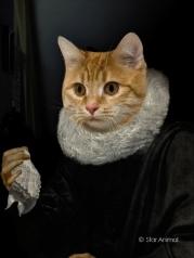 Portrait au mouchoir